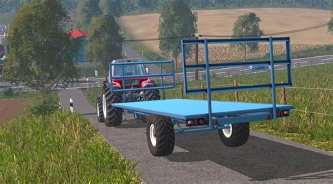 home made ls bale trailer v 1 0 mod farming simulator 2015