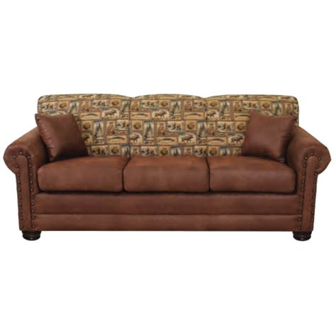 Lodge Sofa by 3431 Lodge Sofa By Bestcraft Furniture The Log Furniture