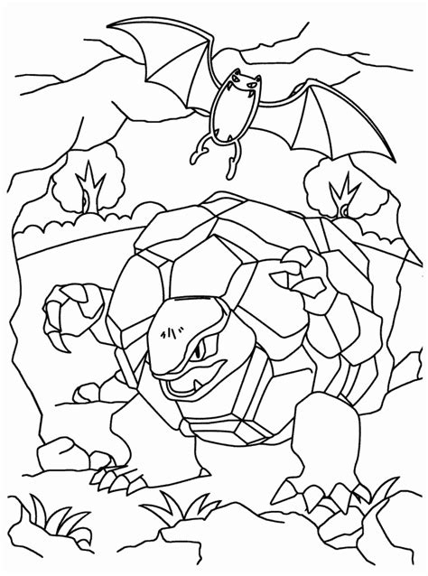 pokemon coloring pages boldore free printable pokemon coloring home