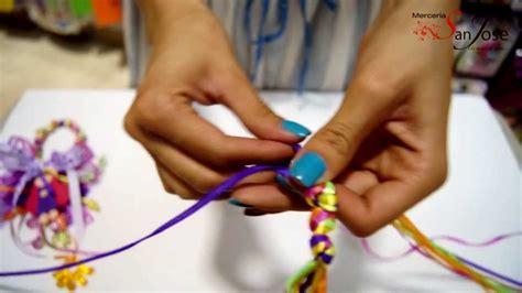 como hacer suveniles y oraciones de la medalla milagrosa como hacer los nudos de las bendiciones para puerta youtube
