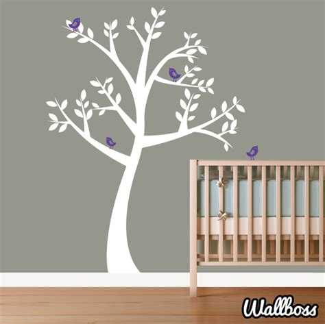 nursery tree wall stickers uk big nursery tree wall sticker by wallboss wallboss wall stickers wall stickers uk wall