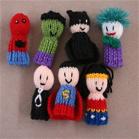 free knitting patterns finger puppets ravelry 7 finger friends finger puppets pattern