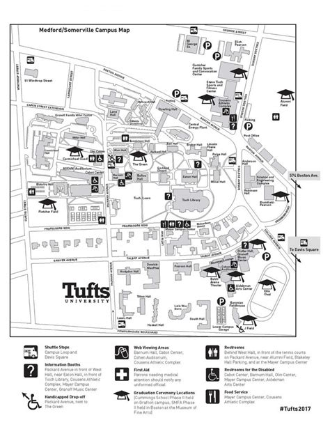 Tufts Find Tufts Cus Map My