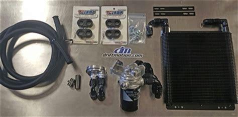 Adaptor Cooler Supra driftmotion remote filter universal cooler kit