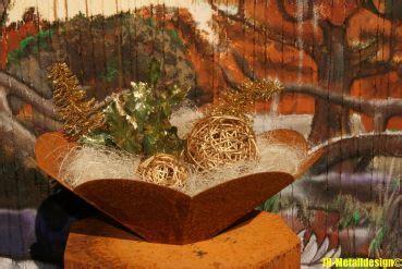 Feuerschale Blume by Jh Metalldesign Schale Feuerschale Blume Edelrost
