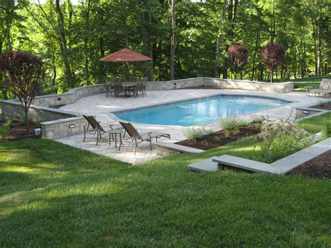 cool backyards with pools cool and stunning backyard pool ideas