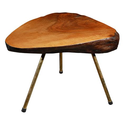 Tree Trunk Coffee Table Carl Aubock Tree Trunk Coffee Table At 1stdibs