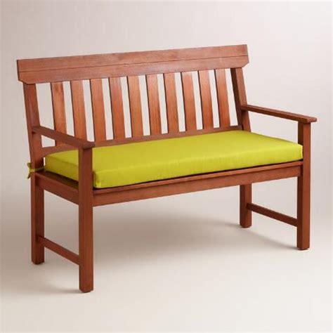 green outdoor bench green outdoor bench cushion world market