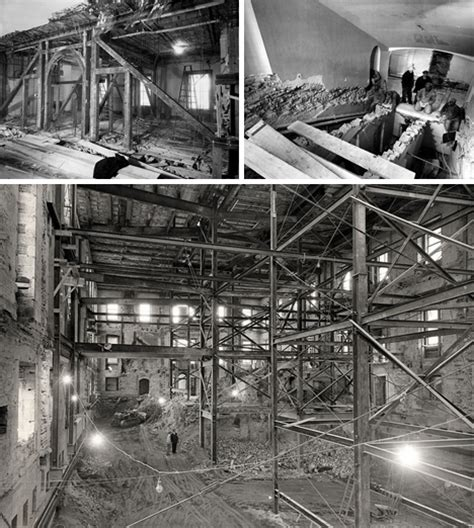 revealing historical photos show us white house gutted