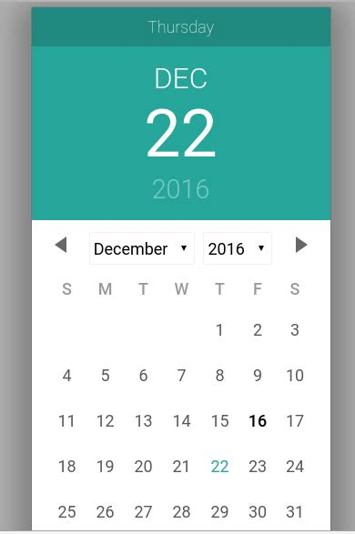 javascript date format get month name materialize date picker script calendar plugin exle
