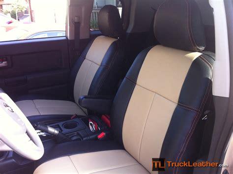 best fj seat covers custom leather insert clazzio set on toyota fj cruiser
