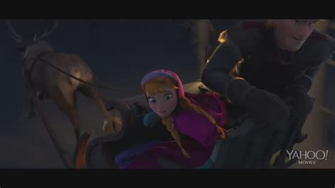 frozen film wolf frozen quot wolf chase quot clip anna and kristoff photo