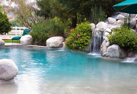 Backyard Pools With Entry What Is A Entry Swimming Pool Backyard Escapes