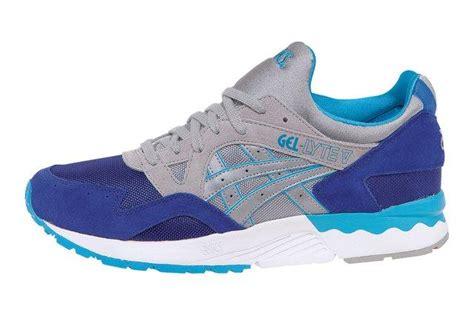 Sneakers Sepatu Asics Gel Lyte V Grey Original Premium 40 44 asics gel lyte v sea blue grey sneaker freaker