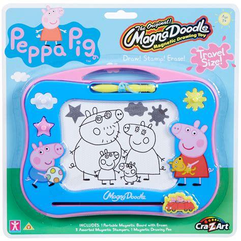 mini magna doodle uk peppa pig cra z magna doodle travel size new ebay