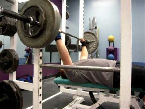 reps for bench press 275 pound bench press 5 reps 6 16 09 youtube