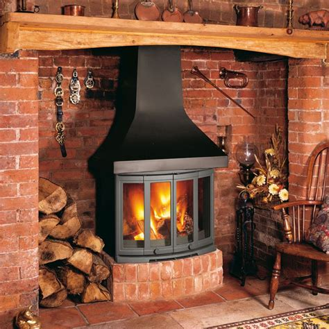 Fireplaces Bradford by Dovre 2400cb Wood Burning Fireplace Stove Multi Fuel