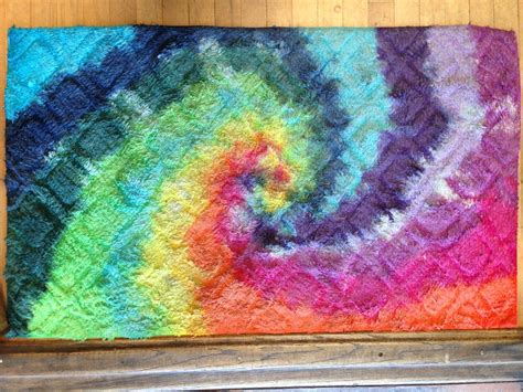 How To Dye Rugs by Tie Dye Carpet Best Decor Things