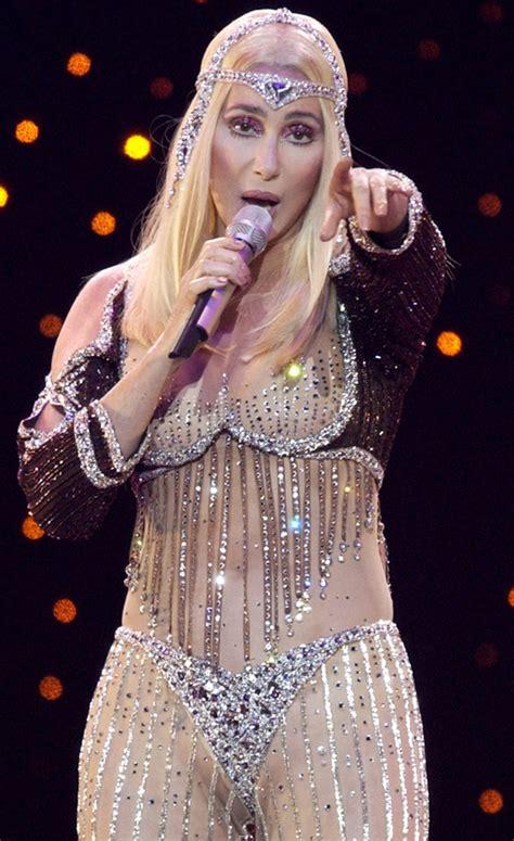 Cher Wardrobe by Cher Costumes For Farewell Tour Popsugar Fashion