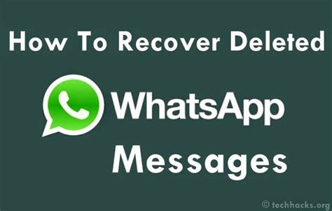 Tutorial How To Restore Deleted Whatsapp Messages On | aneeshvakkom