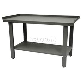 automotive work bench open leg automotive workbench globalindustrial com