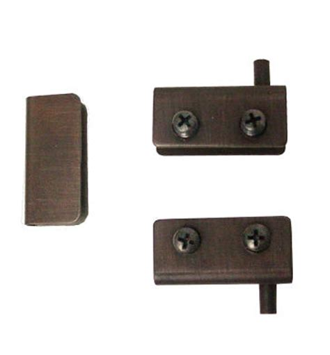 Glass Door Pivot Hinge by Pivot Glass Door Hinges Strike Plate Rubbed Bronze Pair Lq H17255 Bvb C