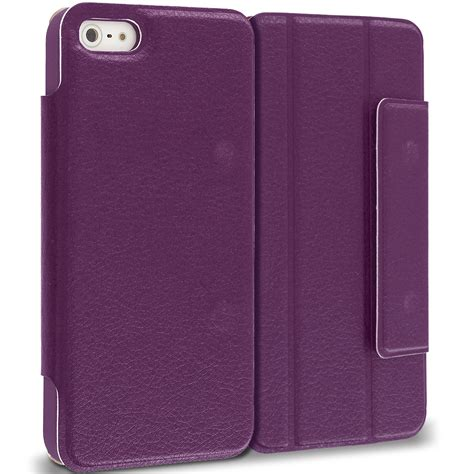 Flipcover Iphone 44g4s for apple iphone 5 5s wallet slim flip folio closing cover color ebay