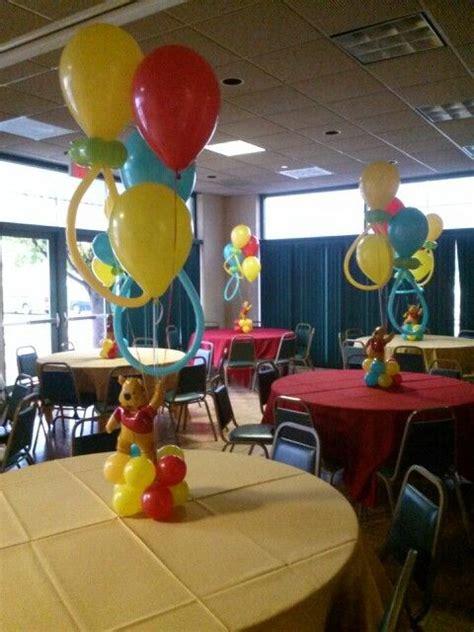winnie the pooh centerpiece ideas winnie the pooh centerpieces balloon centerpieces