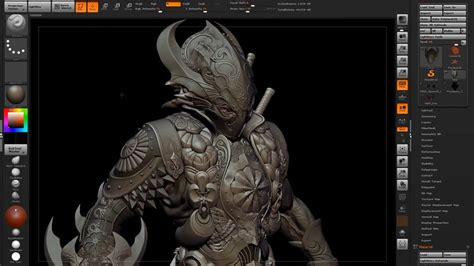 zbrush tutorial modeling zbrush character modeling by rafael grassetti
