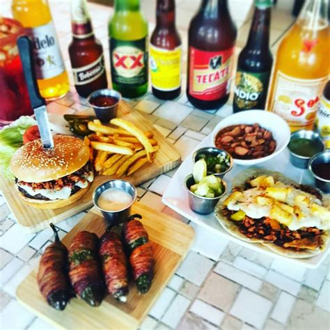 Clasico Kitchen Bar Menu by Some Of Our Top Sellers In Our Menu Toro Eggs Clasico Burger Pastor Tacos Yelp