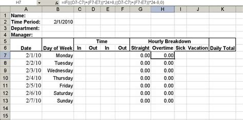 how to make a timesheet in excel gse bookbinder co