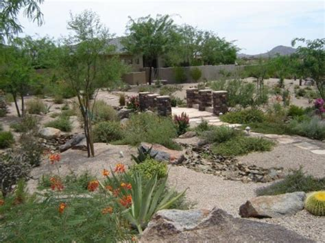 Desert Landscape Ideas For Backyards Desert Landscaping Ideas