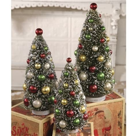 bottle brush christmas trees wholesale bottle brush trees by bethany lowe