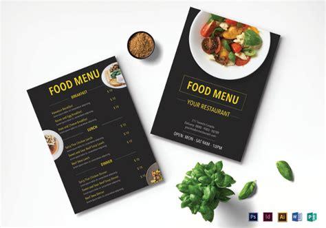 37 Printable Restaurant Designs Templates Psd Word Pages Eps Free Premium Templates Restaurant Menu Design Templates Free