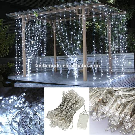 outdoor and indoor christmas decorative pvc led curtain