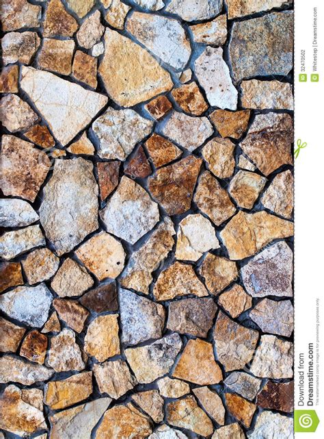 irregular pattern photography masonry wall of colors stones with irregular pattern stock