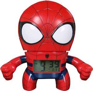 marvel spider bulbbotz alarm clock