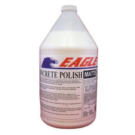eagle 1 gal concrete matte floor finish ewm1 the