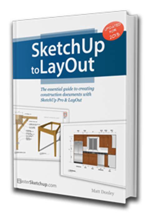 save sketchup layout as pdf sketchup to layout book