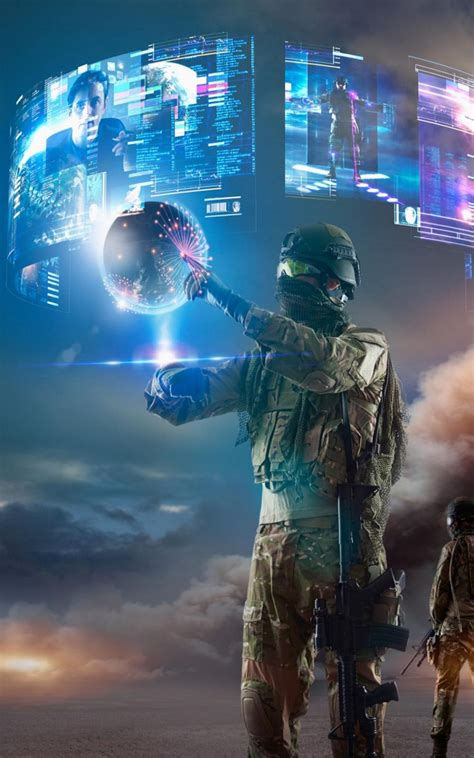 wallpapers futuristic virtual balls android wallpapers virtual reality of future military download free 100