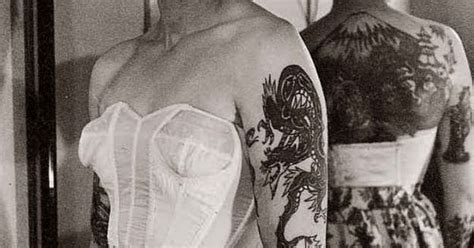 tattoo and body piercing history 14 truly awesome photos of tattoos throughout history
