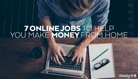 Online Jobs To Make Money From Home - 7 online jobs to help you make money from home