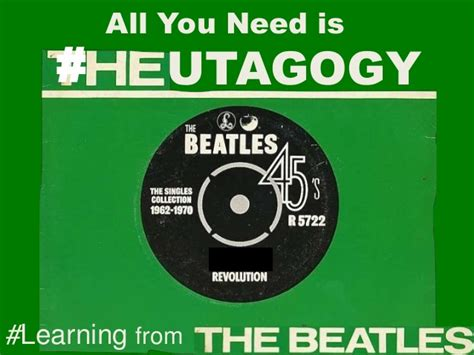 Kaos The Beatles All You Need Is the beatles all you need is heutagogy