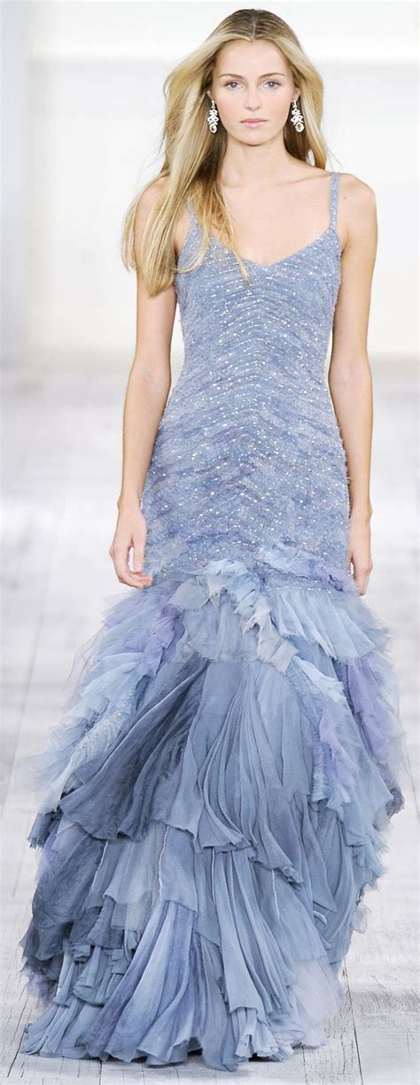 Blue Mermaid Dress By Ralph 489 best ralph images on fashion