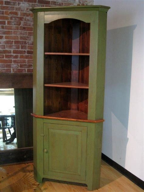 rustic corner china cabinet custom made rustic style barn wood corner cabinet by