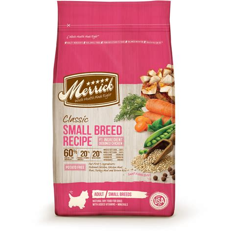 petco puppy food merrick classic small breed food petco