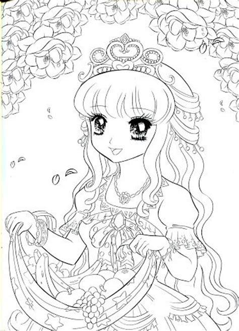 Coloring Book Princess Mama Mia Picasa Webalben Anime Princess Coloring Pages