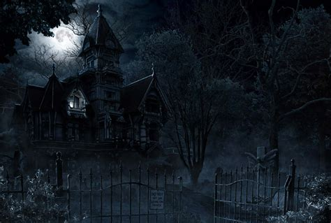 Haunted House Haunted House And Mansion Ghost