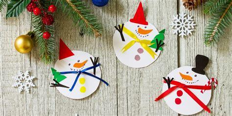 snowman crafts  kids  adults diy snowman christmas decor