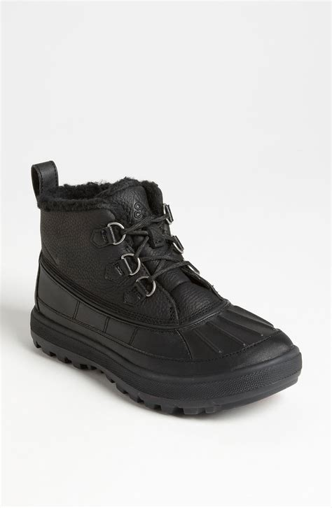 nike woodside 2 chukka boot in black black black lyst